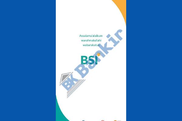 1. Buka Aplikasi BSI Mobile 3