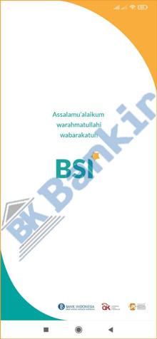 1. Buka Aplikasi BSI Mobile 8