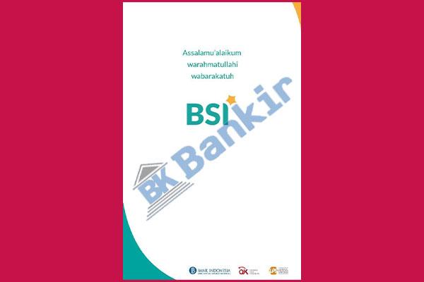 1. Masuk ke BSI Mobile