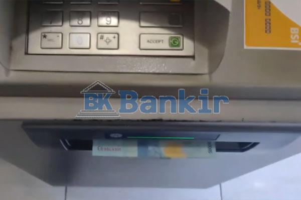 15. Tarik Tunai Lewat Mesin ATM BSI Selesai