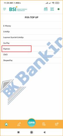 4. Pilih Paytren