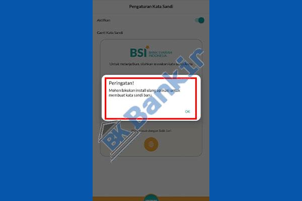 5. Install Ulang Aplikasi BSI Mobile