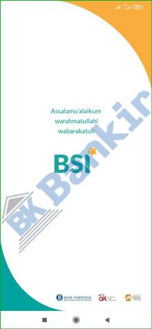7. Buka Aplikasi BSI Mobile