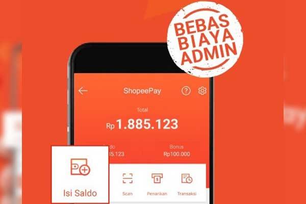 Biaya Admin Isi Saldo ShopeePay Lewat BSI Mobile