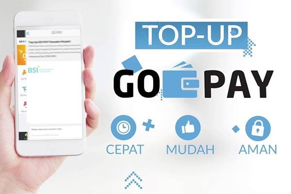Biaya Admin Top Up Gopay Lewat BSI Mobile