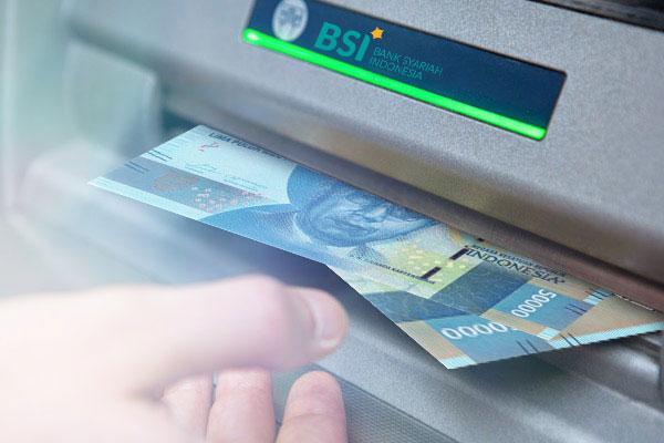 Cara Tarik Tunai BSI Tanpa Kartu Lewat Mesin ATM