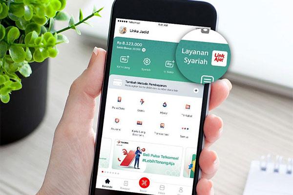 Cara Top Up LinkAja Syariah Lewat BSI Mobile