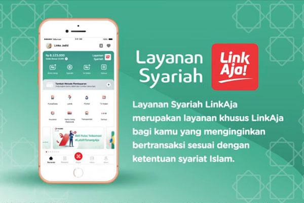 Limit Top Up LinkAja Syariah BSI Mobile