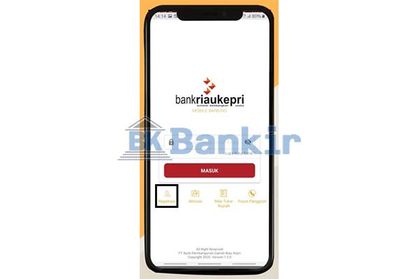 Buka Aplikasi BRK Mobile