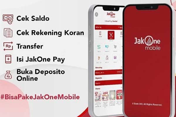 Fitur yang Tersedia di JakOne Mobile