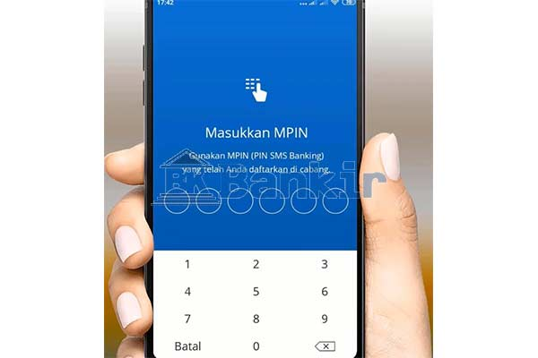 Input MPIN Mandiri Online 1