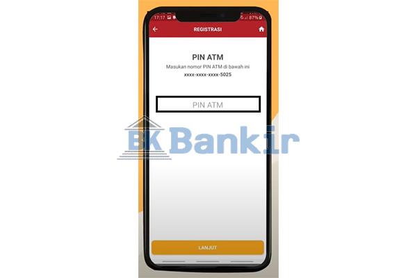 Input PIN ATM 1