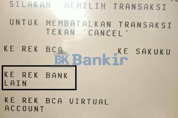 Ke Rek Bank Lain 1