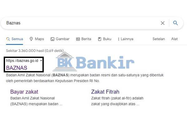 Kunjungi Situs Baznas