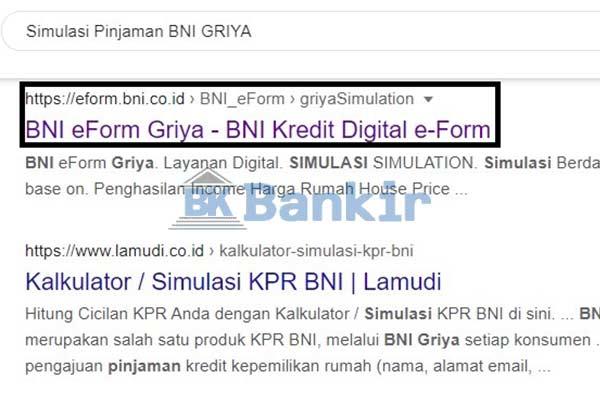 Kunjungi Situs Resmi Bank BNI