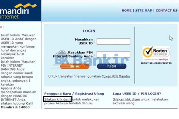 Kunjungi Website Resmi Bank Mandiri