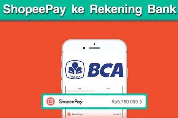 Limit Transfer Shopeepay ke BCA