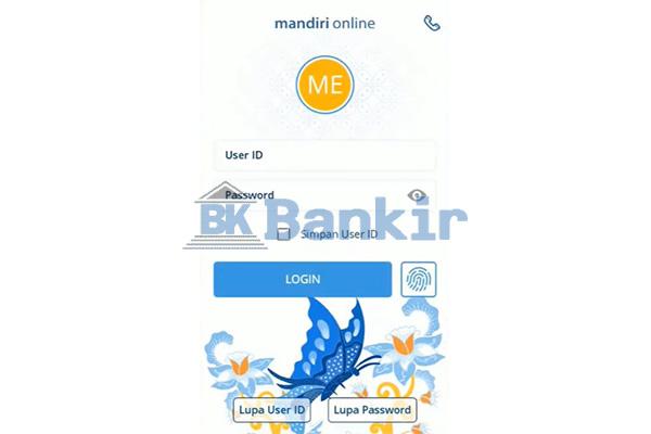 Login Mandiri Online