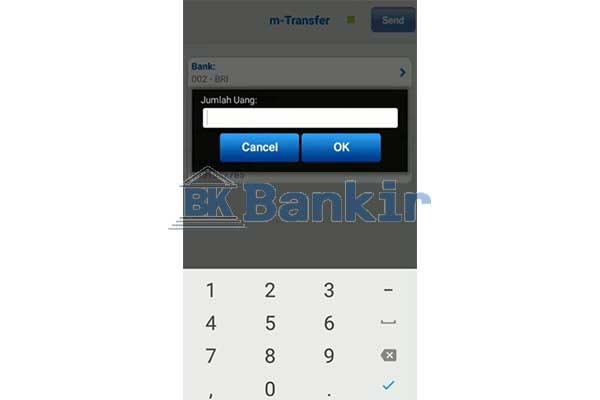 Masukkan Nominal Transaksi