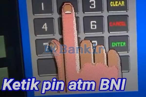 Masukkan PIN ATM 4