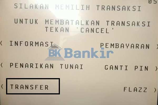 Pilih Transfer 1