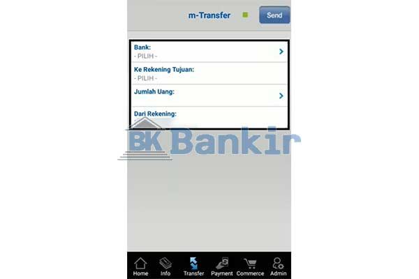 Tentukan Bank Tujuan