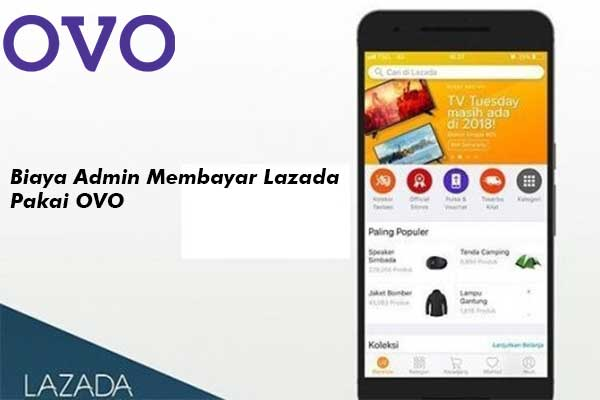 Biaya Admin Bayar Lazada Menggunakan OVO
