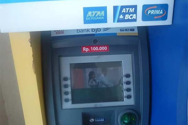 Biaya Cek Saldo via ATM BJB