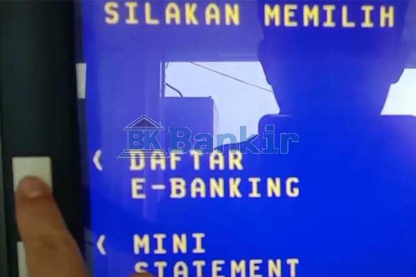 Daftar e Banking