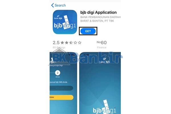 Install Aplikasi BJB Digi