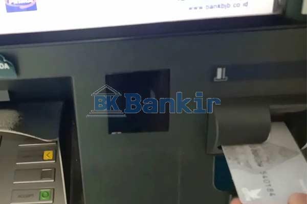 Masukkan ATM BJB