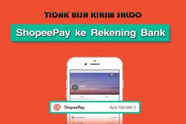Tidak Bisa Transfer Shopeepay ke Bank