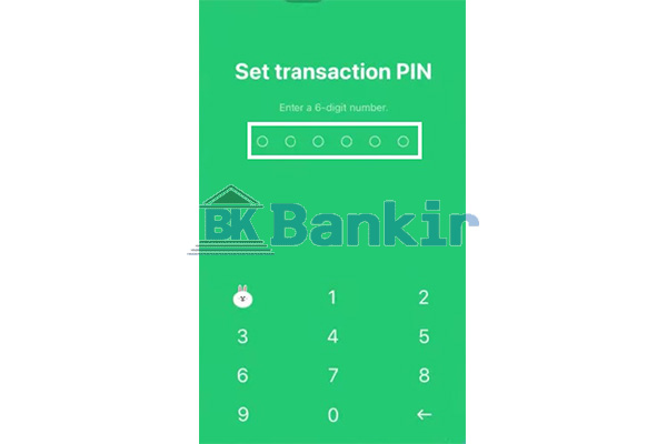 Buat PIN Transaksi