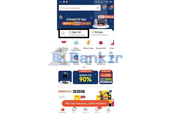 Buka Aplikasi Shopee 1