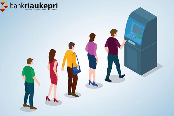 Cara Tarik Tunai di ATM Bank Riau Kepri Syariah