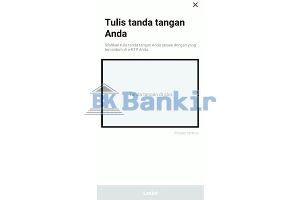 Input Tanda Tangan Digital