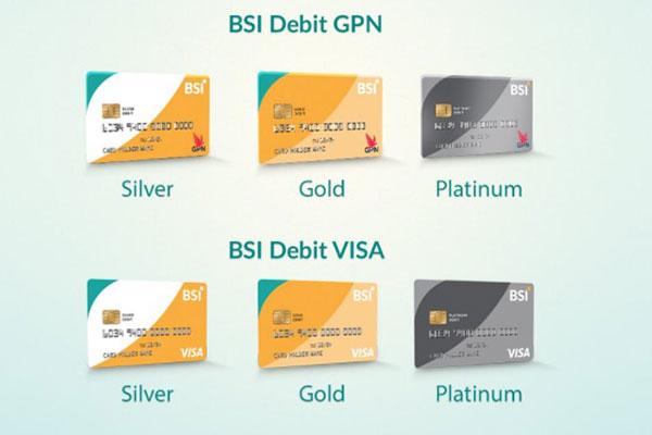 Jenis Kartu ATM BSI