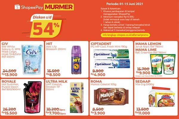 Keuntungan Belanja di Alfamart Pakai Shopeepay