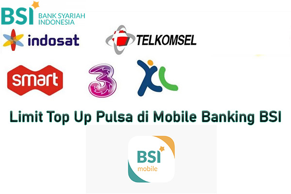 Limit Top Up Pulsa di Mobile Banking BSI
