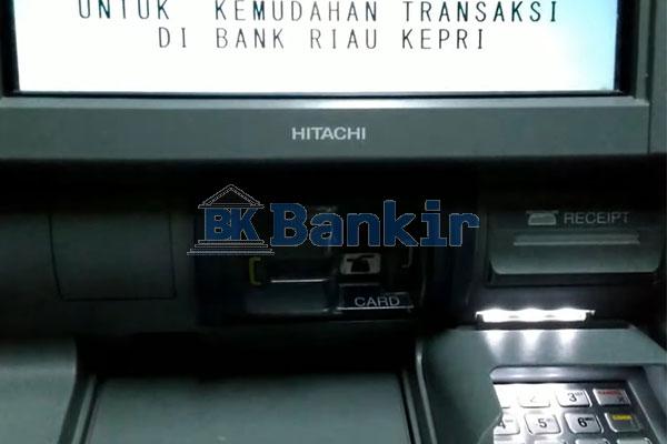 Masukkan Kartu ATM