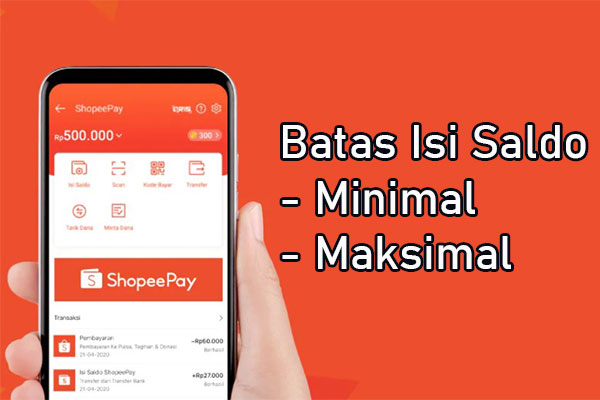 Batas Isi Saldo ShopeePay Lewat Line Bank