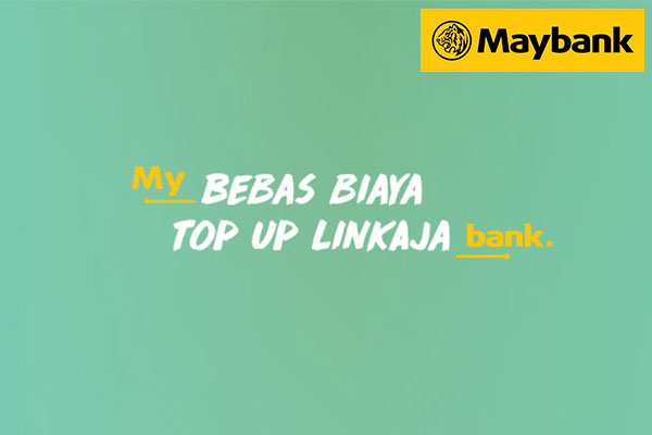 Biaya Admin Top Up LinkAja via Rekening MayBank