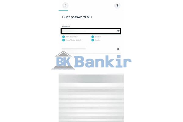 Buat Password Blu BCA