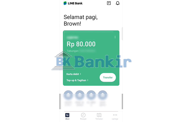 Buka Line Bank 1
