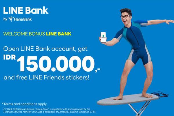 Cara Mendapatkan Welcome Bonus Dari Line Bank