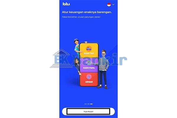 Jalankan Aplikasi Blu BCA