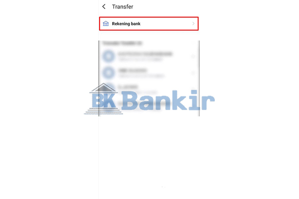 Klik Rekening Bank