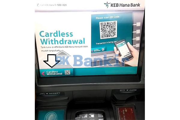 Kunjungi ATM Hana Bank