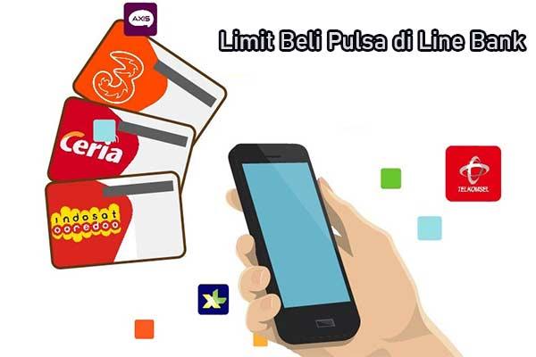 Limit Pembelian Pulsa Melalui Line Bank