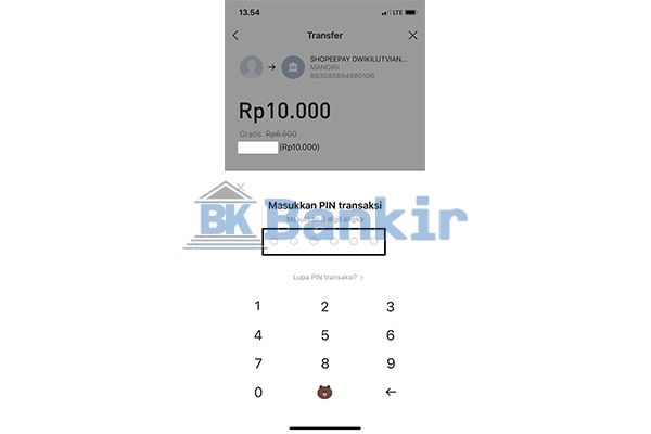 Masukkan PIN Transaksi 3